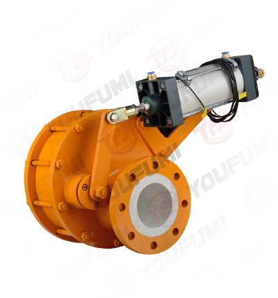 Pneumatic Ceramic Rotary Disc Valve